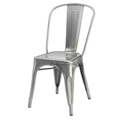 Cassandra Side Chair Finish: Gunmetal