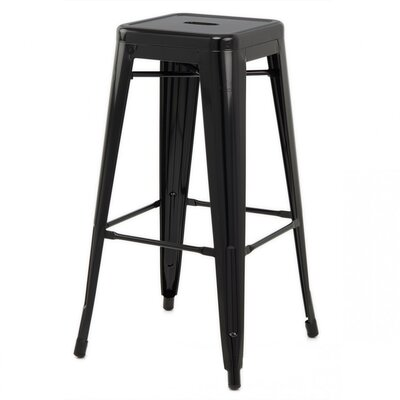 Ajax 30 Bar Stool Finish: Black