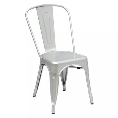 Cassandra Side Chair Finish: Matte Silver