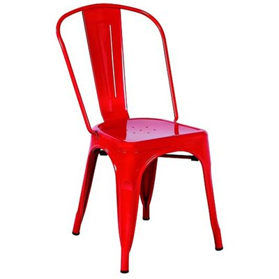 Cassandra Side Chair Finish: Red