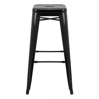 Ajax Bar Stool Finish: Black