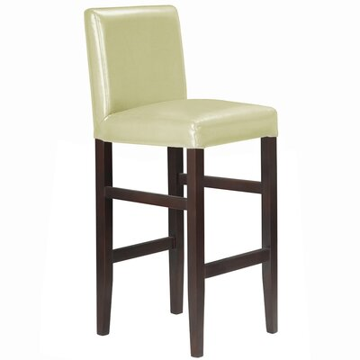 Kendall Bar Stool Upholstery: Cream