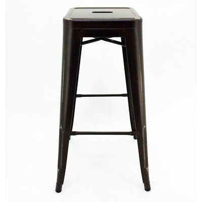 Ajax 30 Bar Stool Finish: Copper