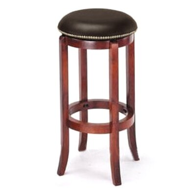 Manchester 30 Bar Stool Upholstery: Brown