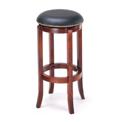 Manchester 30 Bar Stool Upholstery: Black