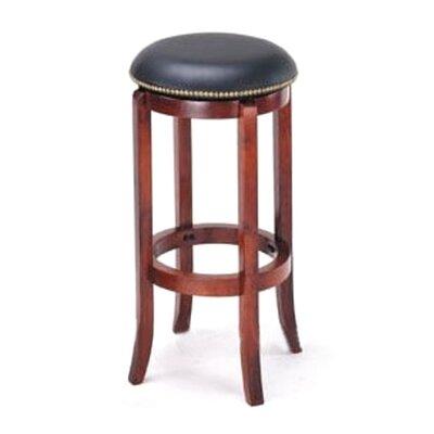Manchester 30 Bar Stool Upholstery: Black
