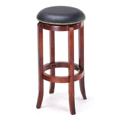 Manchester 29 Bar Stool Upholstery: Black
