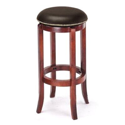 Manchester 29 Bar Stool Upholstery: Brown