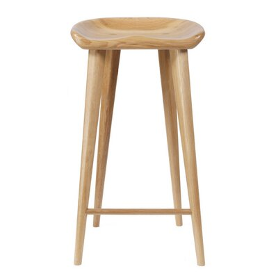 Tractor 29 Bar Stool Finish: Natural
