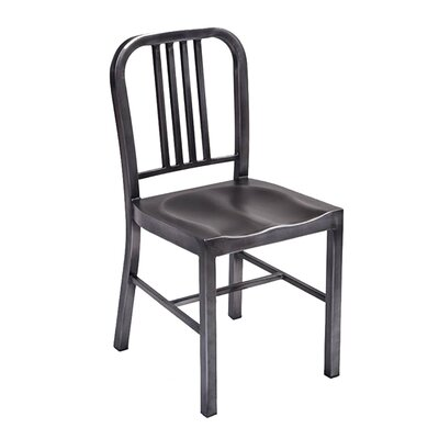 Retro Side Chair Finish: Matte Black