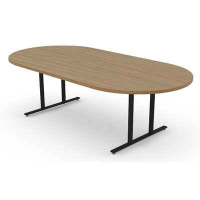 Oval Conference Table Size: 30 H x 48 W x 120 D
