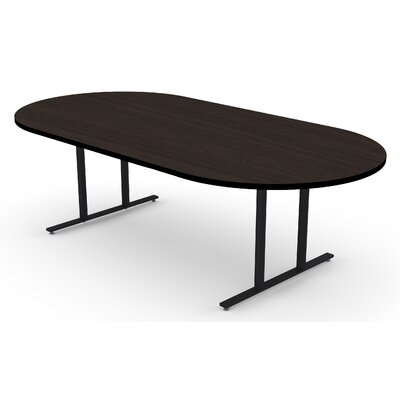 Oval Conference Table Size: 30 H x 48 W x96 D
