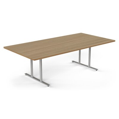 Rectangular Conference Table Size: 30 H x 48 W x 144 D