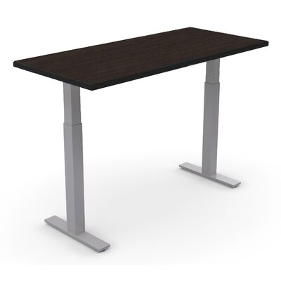 Sustainable Furniture Ergonomic Height Adjustable Table Size: 35.5 H x 72 W x 24 D