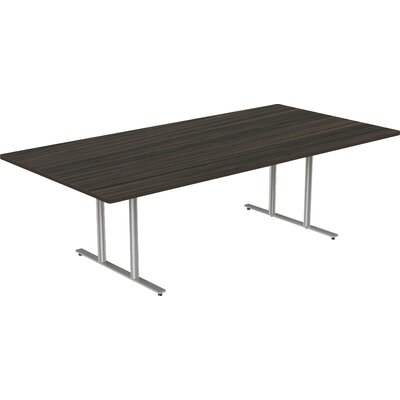 Rectangular Conference Table Size: 30 H x 48 W x 120 D