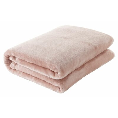 Silky Touch Velvet Plush Throw Blanket Color: Cappuccino
