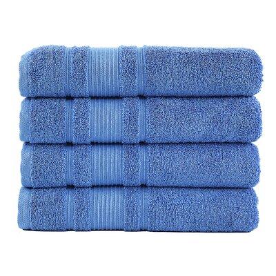 Solomon Luxury Bath Towel Color: Blue