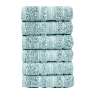 Solomon Luxury Hand Towel Color: Mint