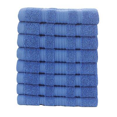 Solomon Luxury Wash Cloth Color: Blue