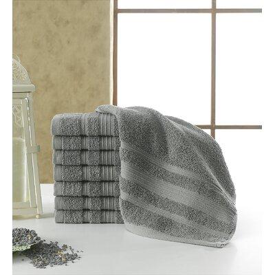 Solomon Luxury Wash Cloth Color: Gray