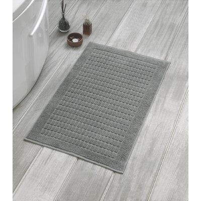 Solomon Luxury Bath Mat Color: Gray