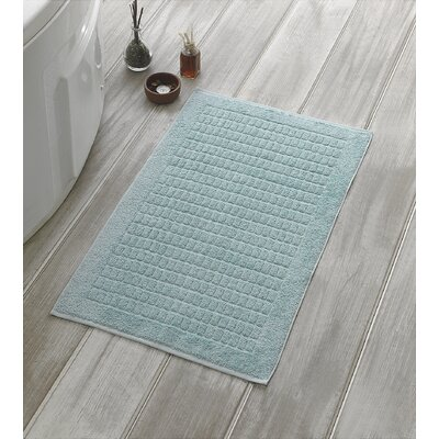Solomon Luxury Bath Mat Color: Mint