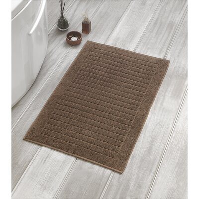 Solomon Luxury Bath Mat Color: Brown
