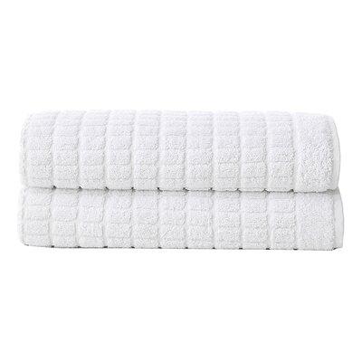 Solomon Luxury Bath Mat Color: White
