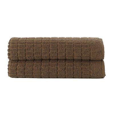 Solomon Luxury Bath Mat Color: Brown