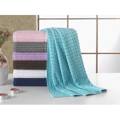 Piano Bath Towel Color: Aqua Blue