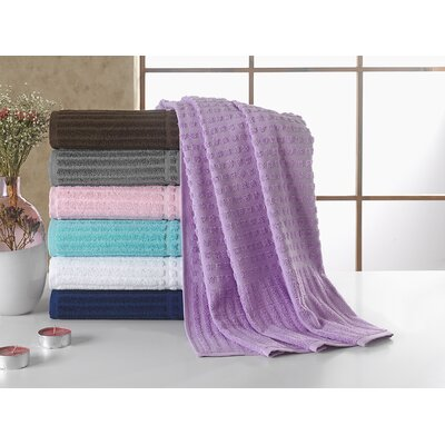 Piano Bath Towel Color: Lavander