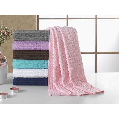 Piano Bath Towel Color: Pink
