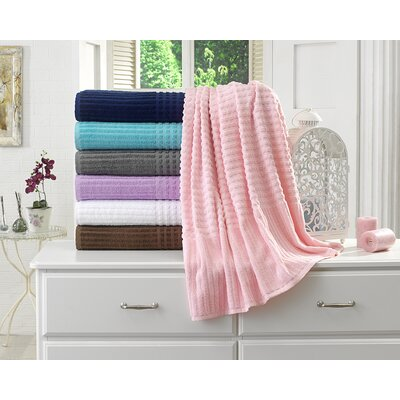 Piano Bath Towel Color: Pink