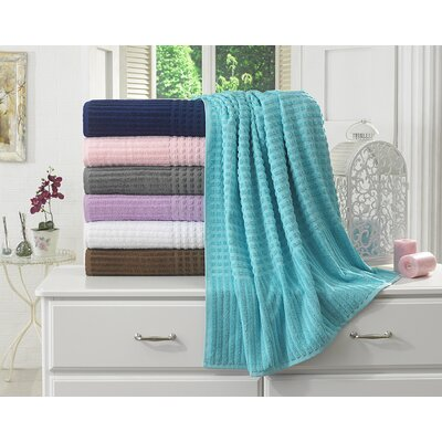Piano Bath Sheet Color: Aqua