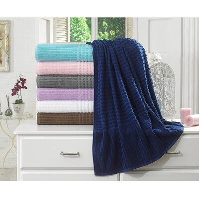 Piano Bath Towel Color: Midnight Blue
