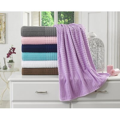 Piano Bath Towel Color: Lavender