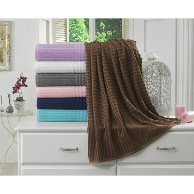 Piano Bath Towel Color: Brown