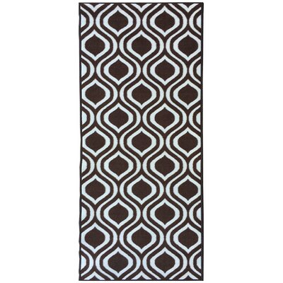 Rose Brown Area Rug Rug Size: 5 x 66