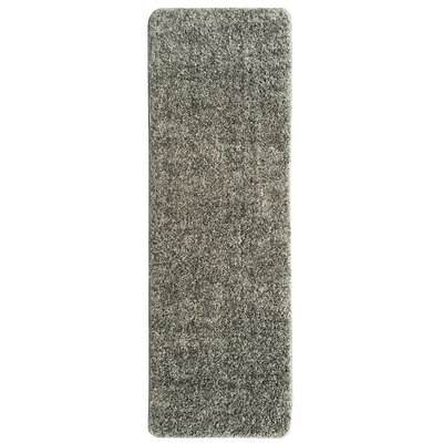 Loft Solid Gray Area Rug Rug Size: 5 x 66