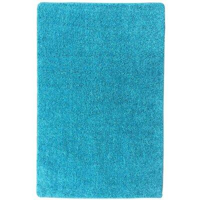 Loft Solid Blue Area Rug Rug Size: 33 x 47