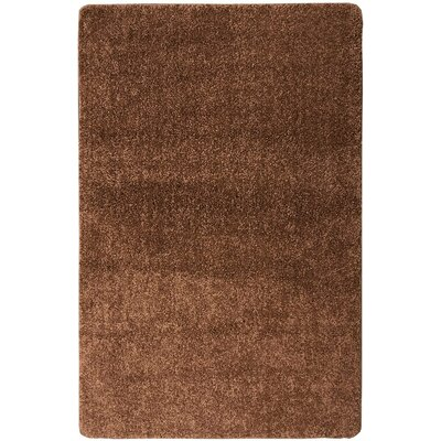 Loft Solid Brown Area Rug Rug Size: 5 x 66