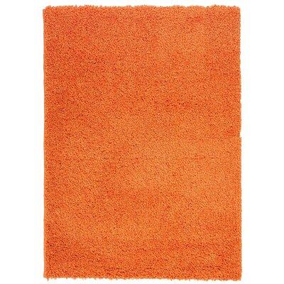 Orange Area Rug Rug Size: 33 x 47