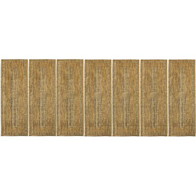 Brown Stair Tread Quantity: Set of 7