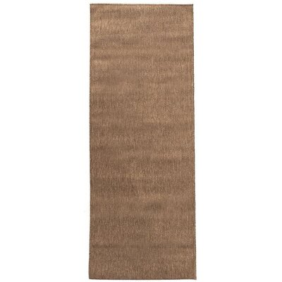Summer Brown Outdoor Area Rug Rug Size: Rectangle 53 x 73