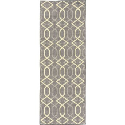 Summer Gray Indoor/Outdoor Area Rug Rug Size: Runner 27 x 7