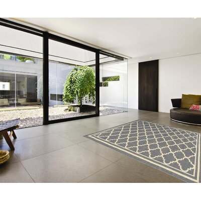 Summer Gray Indoor/Outdoor Area Rug Rug Size: 5 x 7