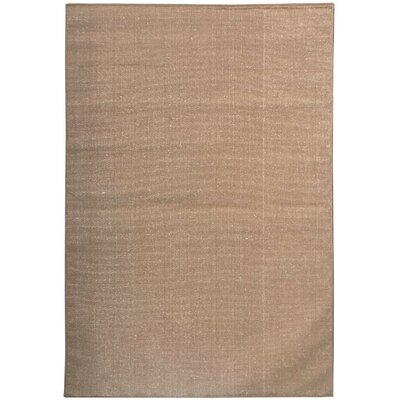 Summer Brown Indoor/Outdoor Area Rug Rug Size: 5'3
