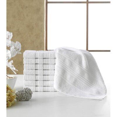 Solomon Luxury Wash Cloth Color: White