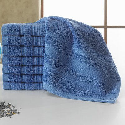 Solomon Luxury Wash Cloth Color: Blue