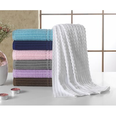 Piano Bath Towel Color: White